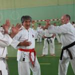 Staż Karate z Kenyu Chinen - 2012