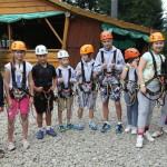 Obóz letni Rytro lipiec 2014 - Park Linowy Ablandia
